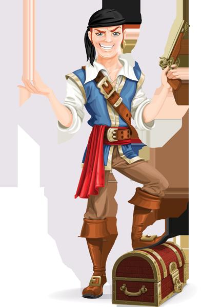 pirate-standing